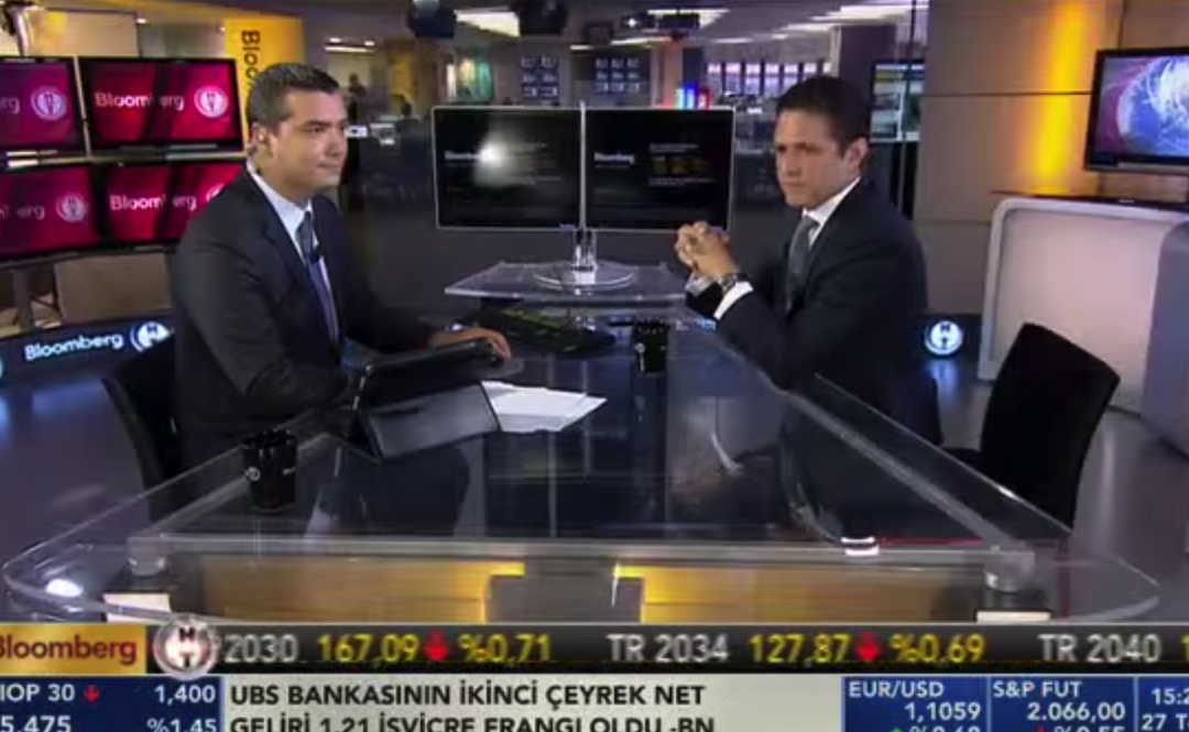 BLOOMBERG INTERVIEW / 27.07.2015