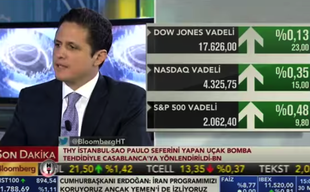 BLOOMBERG INTERVIEW / 30.03.2015